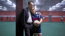 Sean Fine's daughter Claire, 13, had to take several weeks off of soccer after sustaining a concussion in September. (Ian Willms for the Globe and Mail/Ian Willms for the Globe and Mail)