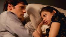 "Hugo Becker as Xavier and Analeigh Tipton as Lily in a scene from ""Damsels in Distress"" (Sony Pictures Classics)"