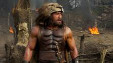 Dwayne Johnson in a scene from Hercules. (Kerry Brown)