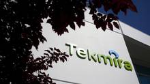 Tekmira Pharmaceuticals Corporation's head office is pictured in Burnaby, British Columbia August 5, 2014. Stock price for the pharmaceutical firm swings wildly amid news experimental treatment TKM-Ebola on track for human use. (Ben Nelms/Reuters)