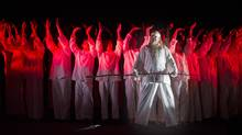Alan Held as the Wanderer the Canadian Opera Company's production of Siegfried at the Four Seasons Centre in Toronto, Ontario Sunday January 17/2016. Siegfried by Richard Wagner will run January 23 to February 14. (Kevin Van Paassen/The Globe and Mail)
