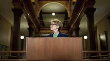 Ontario Premier Kathleen Wynne at Queen's Park in Toronto. (Moe Doiron/The Globe and Mail) (Moe Doiron/The Globe and Mail)