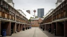 A condo complex in downtown Calgary, June 26, 2014 (Jeff McIntosh/Jeff McIntosh)