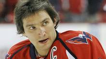 The Washington Capitals and left wing Alex Ovechkin face the Toronto Maple Leafs on Saturday night. (AP Photo/Nick Wass, File) (Nick Wass/AP)
