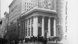 The headquarters of the Knickerbocker Trust Co., New York.