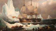 Canada has determined the historic Franklin Expedition shipwreck discovered in the Arctic last month is in fact HMS Erebus. (Francois Etienne Musin/Alamy)