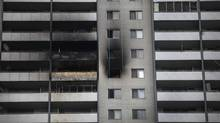 Damage can seen on the 24th floor of the apartment complex at 200 Wellesley St. in Toronto on Sep 27, 2010. Toronto Community Housing Corp. says it uncovered 'fraudulent' conduct after a forensic audit of insurance claims related to the fire. (MOE DOIRON/THE GLOBE AND MAIL)