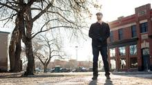 Mathew McLash is facing opposition to his plan to build a 16-storey mixed-use infill building just south of Whyte Avenue in Edmonton. (Amber Bracken for The Globe and Mail)
