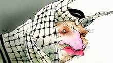 Yasser Arafat (Anthony Jenkins/The Globe and Mail)