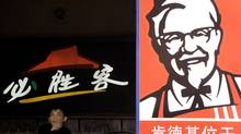 Yum Brands is the largest fast-food operator in China and its business here played a crucial role in its first-quarter earnings. (Eugene Hoshiko/Associated Press/Eugene Hoshiko/Associated Press)