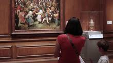 One of the most famous – and valuable – paintings in the DIA collection is The Wedding Dance by Pieter Bruegel the Elder. (Jeff Kowalsky/Bloomberg)