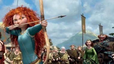 A scene from Pixar's Brave.
