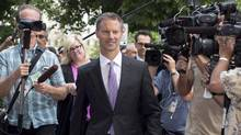 Nigel Wright is shown arriving at the Ottawa courthouse in Ottawa Wednesday, Aug. 19, 2015 to testify at Mike Duffy's trial. (Justin Tang/THE CANADIAN PRESS)