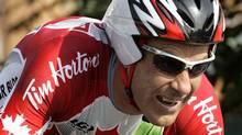 Canada's Svein Tuft has joined new Australian racing team GreenEdge Cycling. (AP File Photo/Antonio Calanni) (Antonio Calanni/AP)