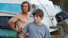 Matthew McConaughey and Tye Sheridan in Mud.