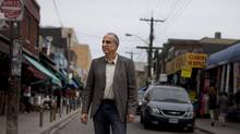 Ken Greenberg, author of a new book 'Walking Home' and one of the world's foremost urban designers, shares his passion and methods for rejuvenating neglected cities. He is photographed in Toronto's Kensington Market May 10, 2011. (Moe Doiron/Moe Doiron/The Globe and Mail)