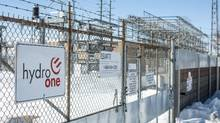 The Hydro One Pleasant Transfer Stationis seen here in Brampton, Ontario Monday March 9, 2015. Kathleen Wynne's Liberal government is planning to privatize the public utility. (Tim Fraser For The Globe and Mail)