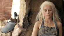 Emilia Clarke in Game of Thrones. (HBO)