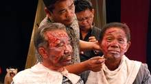 The Act of Killing: A documentary in which former Indonesian death squad leaders reenact their real-life mass-killings in various cinematic genres.
