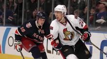 The Ottawa Senators may turn to veteran Chris Kelly in Game 7 against the Pittsburgh Penguins. (JESSICA RINALDI/Reuters)