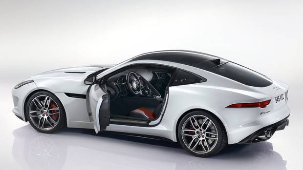 in pictures 2015 jaguar f type coupe the globe and mail. Black Bedroom Furniture Sets. Home Design Ideas