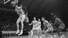 For the first time ever in an NCAA final, Texas Western fielded an all-black starting lineup against Kentucky on March 19, 1966. This was the start of a seminal moment in college basketball – even in U.S. history. (Associated Press/AP)