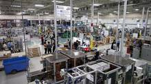 Magna's Dortec Industries plant in Newmarket, Ont. (Moe Doiron/The Globe and Mail)