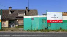 File photo from May, 2012, of an unfinished housing development in Dublin. Next year, Ireland's deficit is forecast to fall to 7.5 per cent, compared with Greece's 4.7 per cent, Portugal's 4.5 and Spain's 5.7. (CATHAL MCNAUGHTON/REUTERS)
