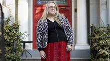 Autumn Getty frets every time she needs to use a public washroom. As a trans woman, she's never sure which one to pick. (Peter Power/The Globe and Mail)