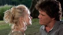 "Naomi Watts and Josh Brolin in a scene from ""You Will Meet a Tall dark Stranger."" (Keith Hamshere/AP)"