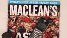 Maclean's magazine is seen in this file photo. (Louie Palu/The Globe and Mail)