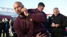 Dwayne Johnson in Snitch. (Steve Dietl/2012 Summit Entertainment)