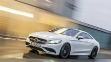 The design of the Mercedes-Benz S63 AMG Coupe is bold and from the front it offers a menacing stance. (Daimler AG - Global Communications Mercedes-Benz Cars)