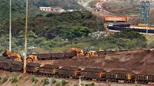 Vale's Brucutu iron ore mine in southeastern Brazil. (ALEXANDRE MOTA/AFP/Getty Images)