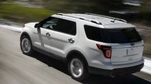 Ford's popular SUV, the Explorer, was redesigned as a crossover for 2011, becoming more fuel efficient for buyers concerned about rising fuel costs. (Ford)