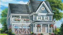 Rendering of one of the home slated for construction at West Shore Beach Club, Orillia, Ont.