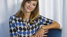 Rashida Jones, lead actress and co-scriptwriter of Celeste and Jesse Forever, in Whistler to receive the Whistler Film Festival's Trailblazer Award for her versatility in both comedic and dramatic roles and her growing presence in Hollywood as a screenwriter. (BONNY MAKAREWICZ For the Globe and Mail)