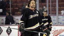 Anaheim Ducks forward Teemu Selanne (Reed Saxon/The Associated Press)