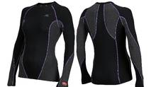 Mizuno?s Breath Thermo range is supposed to warm up when exposed to moisture such as sweat.