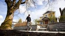 A home at address 606 W. 17th Ave is pictured during construction in Vancouver, British Columbia on April 24, 2014. (BEN NELMS for The Globe and Mail) (Ben Nelms/The Globe & Mail)