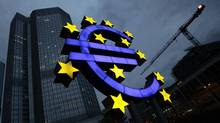 Economists and analysts predict the ECB will give ailing euro zone banks as much as €1-trillion in a second wave of loans. (KAI PFAFFENBACH/REUTERS)