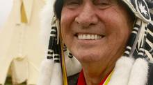 One of Atlantic Canada's most colourful and longest-serving Mi'kmaq leaders, Lawrence Paul.