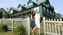 Jon Dimick and Lisa Gallant will play host to a Justin Trudeau fund-raiser at Overtheway, overlooking Mahone Bay. (PAUL DARROW/THE GLOBE AND MAIL)