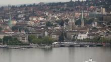 Zurich, Switzerland. (CHRISTIAN HARTMANN/REUTERS)