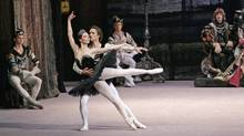 "Bolshoi Ballet performers in ""Swan Lake"" (Damir Yusupov)"