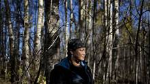 Business owner Angela Roan pictured near her home on the Ermineskin reserve, Alberta, October 6, 2014. Roan started Atoskewin Transport a year ago to shuttle aboriginal people from her community to jobs off-reserve. She thinks the owner of a local cafeteria in Maskwacis should be hiring locally rather than using temporary foreign workers. (JASON FRANSON For The Globe and Mail)