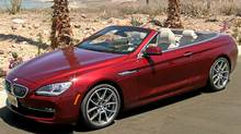 2012 BMW 6-Series Cabriolet (Petrina Gentile for The Globe and Mail)