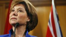 B.C. Premier Christy Clark in Victoria, Tuesday March 27,2012. (Chad Hipolito for The Globe and Mail/Chad Hipolito for The Globe and Mail)