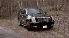 A Muskoka resident spotted Toronto Mayor Rob Ford's black Cadillac Escalade twice last weekend, both times late at night, and parked off of a secluded private road just a few hundred metres from where he is reportedly in rehab.