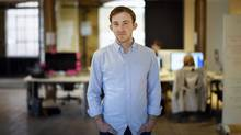 Michael Katchen, Founder and CEO of Wealthsimple, is photographed in the company's west end offices on April 21 2016. (Fred Lum/The Globe and Mail) (Fred Lum/The Globe and Mail)